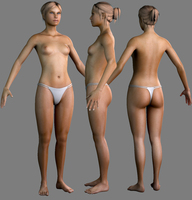 sexy woman 3D Model