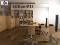 Office set p11 3D Model