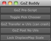 GoZBuddy for Maya 1.0.0 (maya script)