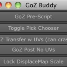 GoZBuddy for Maya 1.0.0 (maya script)