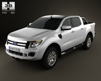 Ford Ranger 2011 3D Model