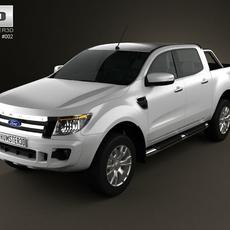 Ford Ranger 2011 3D Model