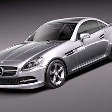 Mercedes SLK 2012 3D Model