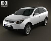 Hyundai ix55 Veracruz 2011 3D Model