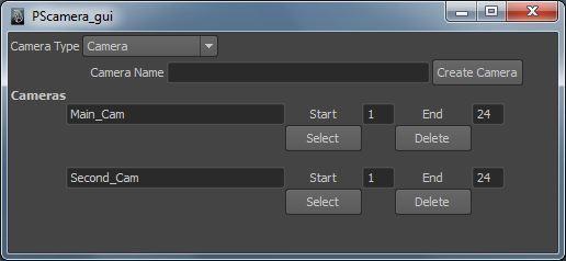 Multiple Camera Render script for Maya