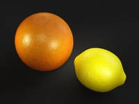 orange and lemon shader for Maya 0.0.2