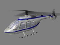 Jet Ranger V2 3D Model