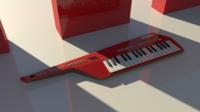 Free Keytar 3D Model