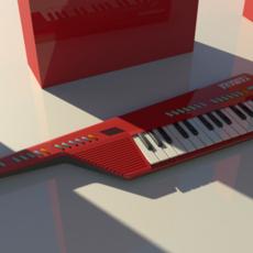 Keytar 3D Model