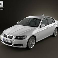 BMW 3-series Sedan 2011 3D Model