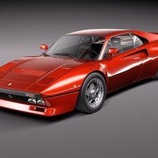 Ferrari 288 GTO 1984-1987 3D Model