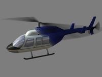 Jet Ranger V1 3D Model