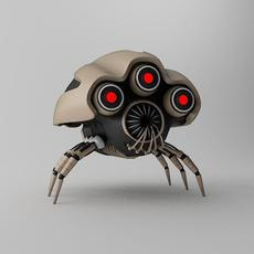 Robot Spider KLJ120 3D Model