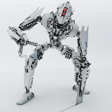 Robot FSPB-100 3D Model