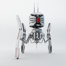 Robot DRT200 3D Model