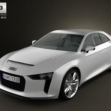 Audi Quattro Concept 2012 3D Model
