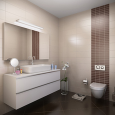 Bathroom interior 001 3D Model