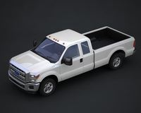 Ford Super Duty pickup truck 3D Model