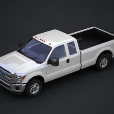 Ford Super Duty pickup truck 3D Model