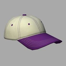 Cap_Purple 3D Model