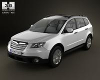 Subaru Tribeca 2010 3D Model