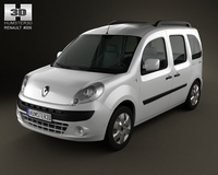Renault Kangoo 2010 3D Model