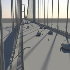 Two-Tower Suspension Bridge Generator for Maya 0.9.1 (maya script)