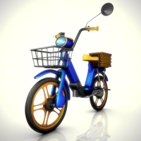 Ciao Scooter Rig 1.1.0 for Maya
