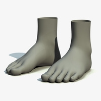Feet 3D Model