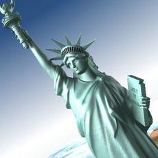 Statue Of Liberty USA 3D Model