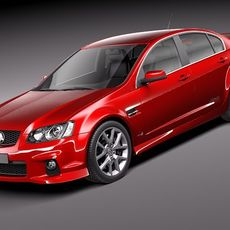 Holden Commodore 2011 sedan 3D Model