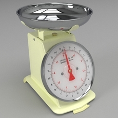 Kitchen Scales 3D Model