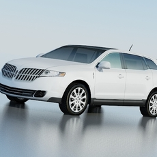 Lincoln MKT SUV 3D Model
