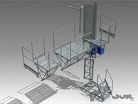 Climbing Work Platform  3D Model
