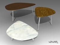Petalo table 3D Model