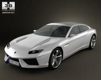 Lamborghini Estoque 3D Model
