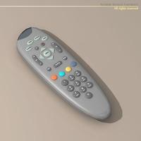 Tv remote 3D Model