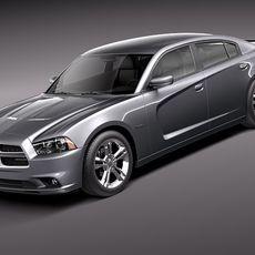 Dodge Charger 2012 3D Model