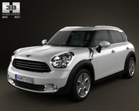 Mini Countryman 2011 3D Model