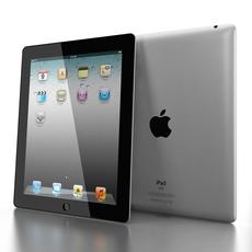 Apple iPad 2 3D Model