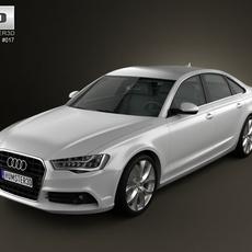 Audi A6 sedan 2012 3D Model