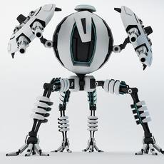 Robot TP65 3D Model