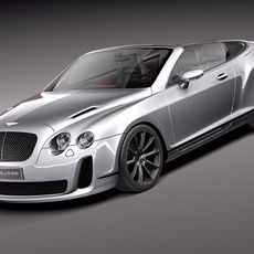 Bentley Continental Supersports Convertible 2011 3D Model