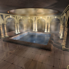 Ancient bath 3D Model