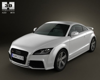Audi TT RS 3D Model