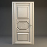 Wooden Door 2 3D Model