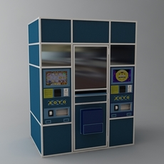Lottery Vending Machine 3D Model