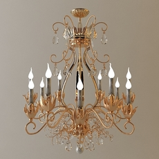 Antique detailed chandelier 3D Model