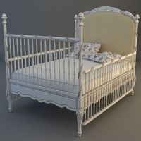 Childs Bed 3D Model