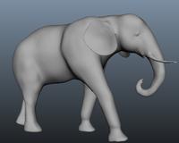 Free Elephant 3D Model